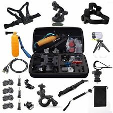 NEW 22 in1 Travel Storage Bag Holder Accessories Set for Sony Action Camera HDR