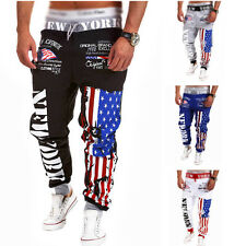 Men's 2015 Casual Jogger Dance Sportwear Baggy Harem Slacks Trousers Sweatpants
