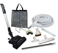30' Central Vacuum Kit w/Hose, Power Head & Tools Beam Electrolux Nutone GR