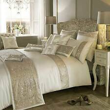 DUO OYSTER by Kylie Minogue Oyster Cream Bedding: Duvet or Cushions