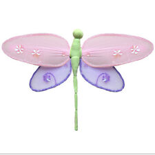 Hanging Dragonfly Decorations Pink Purple Green Nylon Baby Shower Party Favors