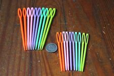Plastic Sewing Needles - Blunt Ended Darning Needle Multipacks