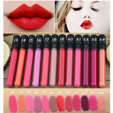 Waterproof Liquid Lip Gloss Matte Lipstick Lip Pen Long Lasting Makeup Beauty