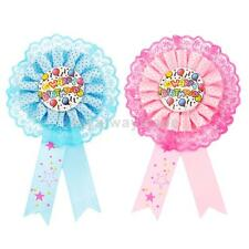 Happy Birthday Award Ribbon Badge Pin Birthday Party Favor Decoration Supplies