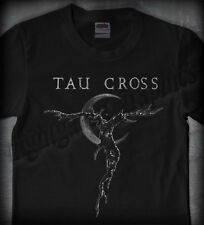 TAU CROSS #01 TREESCAPE LOGO •OFFICIAL SHIRT• amebix, voivod, misery, neurosis