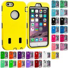 For iPhone 6 PLUS 5.5 Hybrid Armor Cover Case With Built In Screen Protector