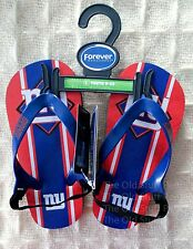 NEW YORK GIANTS Flip Flops Babies Toddlers Youth Children Red White Blue NFL NEW