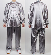 Wushu TaiChi Uniform KungFu uniforms Silver Chinese Kung Fu China Tai chi Chuan