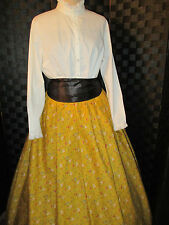Civil War, Victorian, Dickens Skirt One Size Fits All