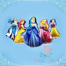 New Huge Round Princess Helium Foil Party Balloon Birthday Party Decor Supplies