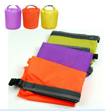Dry Bag Water Resistant Canoe Floating Boating Kayaking Orange/Purple/Green