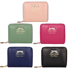 Women Fashion Cute Purse Clutch Mini Wallet Short Small Bag PU Card Holder Tote