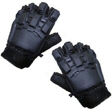 New Air soft / Paint Ball / Tactical Gloves Gear Half Fingered Armoured