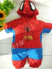NWT Baby Summer Short Sleeve Clothes / Romper 0~36months - SPIDERMAN style