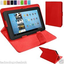 Universal Leather Stand Folding Folio Case Cover Pouch For 8 Inch Tablets Tab