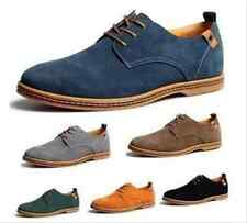 Classic Suede European style leather Shoes Mens oxfords Casual Stylish SIZE 6-13