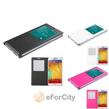 For Samsung Galaxy Note III 3 MyJacket Flip View Leather Back Cover Case