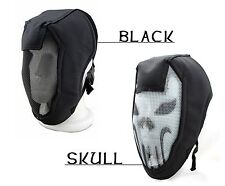 Steel Mesh Full Face Mask Protector for Game Ballistic Paintball Hunting Goggles