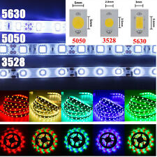 3528 5050 5630 SMD 5M 300 LED Warm/Cool/RGB Flexible Strip Fairy Light Lamp PC36