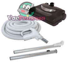 30' or 35' Central Vacuum Kit w/Hose, Power Head & Wands Beam Electrolux Nutone