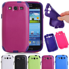 High Impact Rugged Commuter Series Shockproof Case Cover For Samsung Galaxy S3