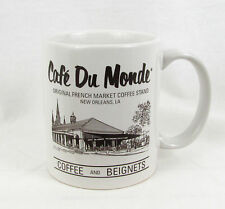 Cafe Du Monde Coffee Stand French Quarter New Orleans LA Coffee Mug Cup GUC