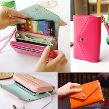 Travel Wallet Card Phone Holder Coin Bag Pouch Purse iPhone 5/5S S4 note 3 Case