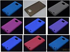 Multi Color Matting TPU Gel CASE Cover For Samsung Galaxy S II S2 I9100