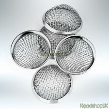 15mm Pipe Screens Gauzes Conical Stainless Steel Rimmmed Bowl Metal Sieve