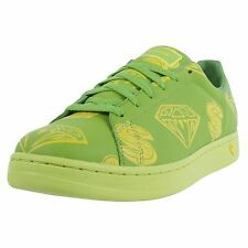 REEBOK X BBC ICE CREAM LOW SNEAKERS GREEN LIME YELLOW 10-117095 NUMBER 6 OF 50