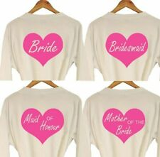 WEDDING ROLES DRESSING GOWN BATH ROBE BRIDE BRIDESMAID MOTHER GIFT FAVOUR PRESEN