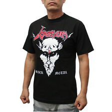 Venom Black Metal Rock Band T-Shirt Red Logo