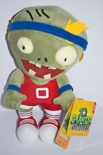 "PopCap Plant Vs Zombies Basketball Velcro Head 11"" Soft Toy/ Plush NEW"