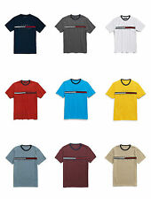 Tommy Hilfiger Mens Signature Logo Crew Neck Classic Fit T Shirt-XS,S,M,L,XL,XXL