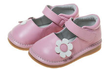 LITTLE BLUE LAMB Squeaky Shoes Shoes Ballerinas 5223 Leather pink Flower NEW