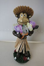 Monkey Dashboard Doll Ukulele 50s Rockabilly Hawaii Kustom Kulture Wobbler
