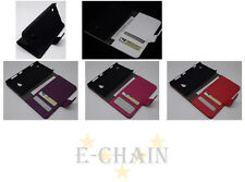 Multi Color Leather Cover Flip Case HOLDER WALLET For Nokia Lumia 720