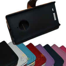 Multi Color Leather Flip Case HOLDER WALLET For Nokia Lumia 830
