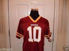 New W/Tags Youth 2XL-20 Washington Redskins Robert Griffin III #10 Mesh Jersey
