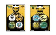 BREAKING BAD - OFFICIAL BADGE PACK badges