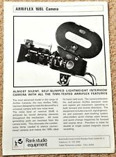 ARRI 16BL sales leaflet - mid to late 1960's, excellent condition - RARE