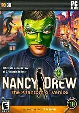 Nancy Drew: The Phantom of Venice for PC Game Systems