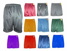 Men's Pockets Workout Jersey Pants Soft Fitness Athletic Basketball Mesh Shorts