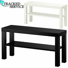 TV STAND BENCH MODERN FOR PLASMA LCD LED TV BLACK WHITE LACK UNIT BRAND NEW UK