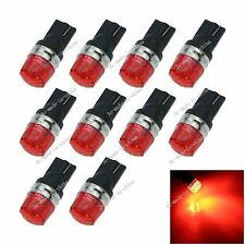 10pcs T10 W5W 2 LED 5630 SMD Wedge Lens Light Car Bulb Lamp DC 12V A119