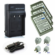 Battery / Charger Kits for Olympus Stylus1, Stylus1s, OM-D E-M10 Digital Camera