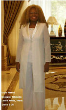 Womens 3Pc Pant/Jacket Set, Mother of the bride dress,Church Suit, Wedding Guest