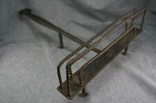 Wrought Iron Hearth Fireplace BREAD TOASTER Hand Forged 19th Century
