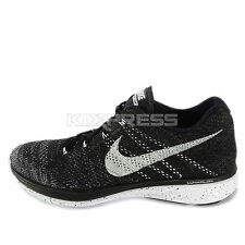 Nike Flyknit Lunar3 [698181-010] Running Black/White-Wolf Grey