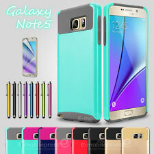 PC Hard Matte Shockproof Dirt Dust Proof Cover Case For Samsung Galaxy Note 5